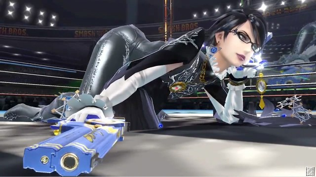 Super Smash Bros. For Wii U (WU)   © Nintendo 2014    2/3: Bayonetta Trailer