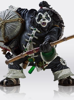 Warcraft Pandaren Brewmaster Statue Is Totally Badass