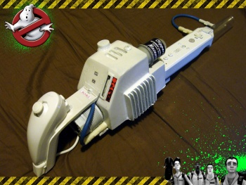 Ghostbusters Fan Makes Amazing Wii Proton Pack The Escapist