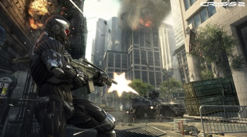 Just watching Crysis 2 coverage might melt your video card.