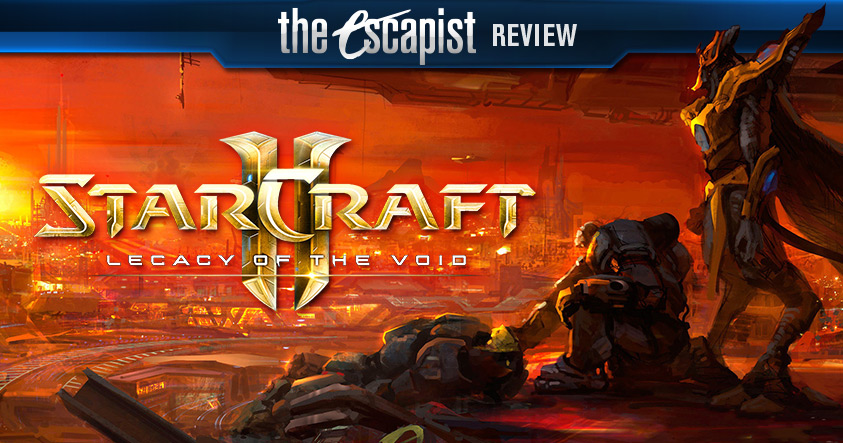Starcraft 2 Legacy of the Void multiplayer review