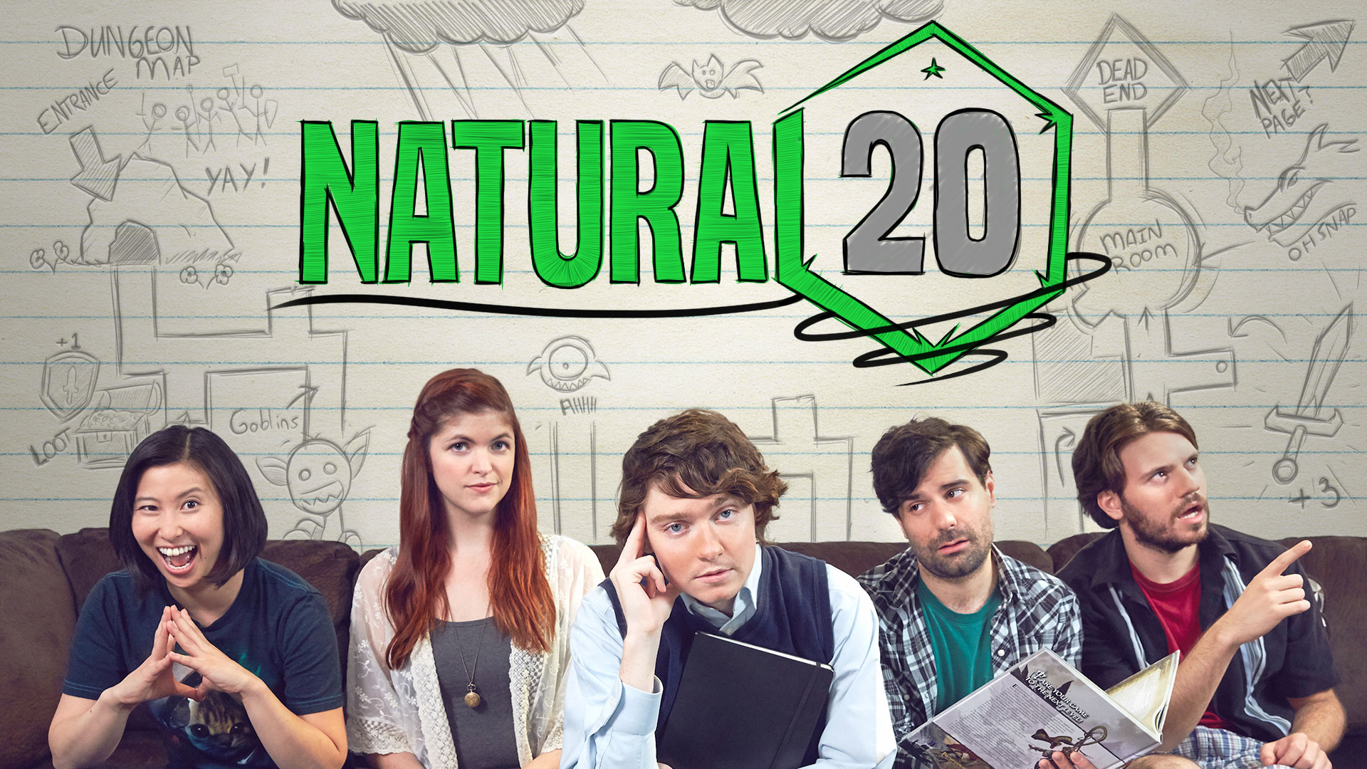 Natural 20 Title Screen