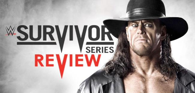 Survivor Series New Logo Banner