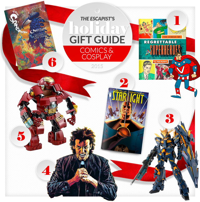 Comics and Cosplay Gift Guide main image