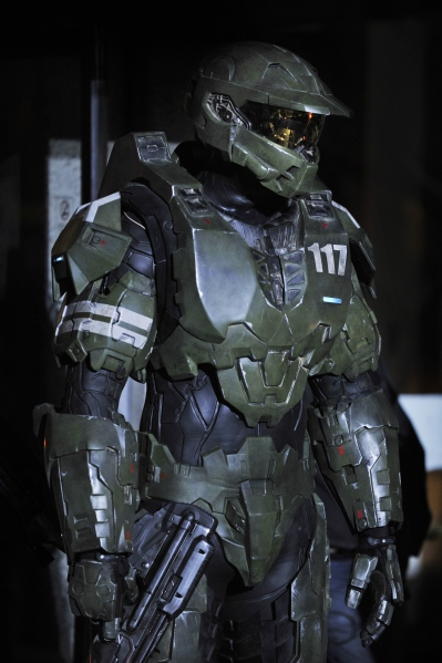 Halo 4: Forward Unto Dawn master chief