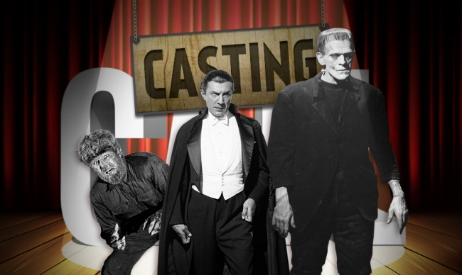 Casting Call Universal Monsters social