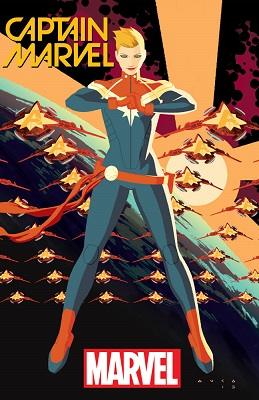 Captain Marvel 1 Cover