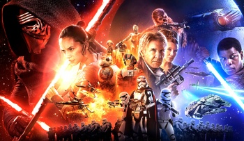 Star Wars: The Force Awakens 9x4 CineMarter