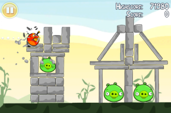 Angry Birds - Screenshot 02