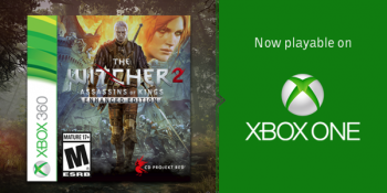 Witcher 2 Backward Compatibility