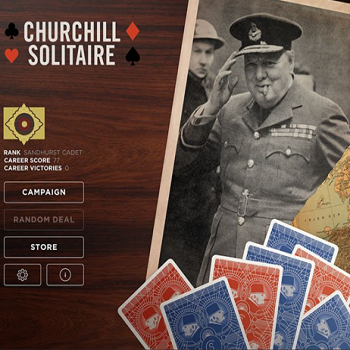 churchill solitaire article