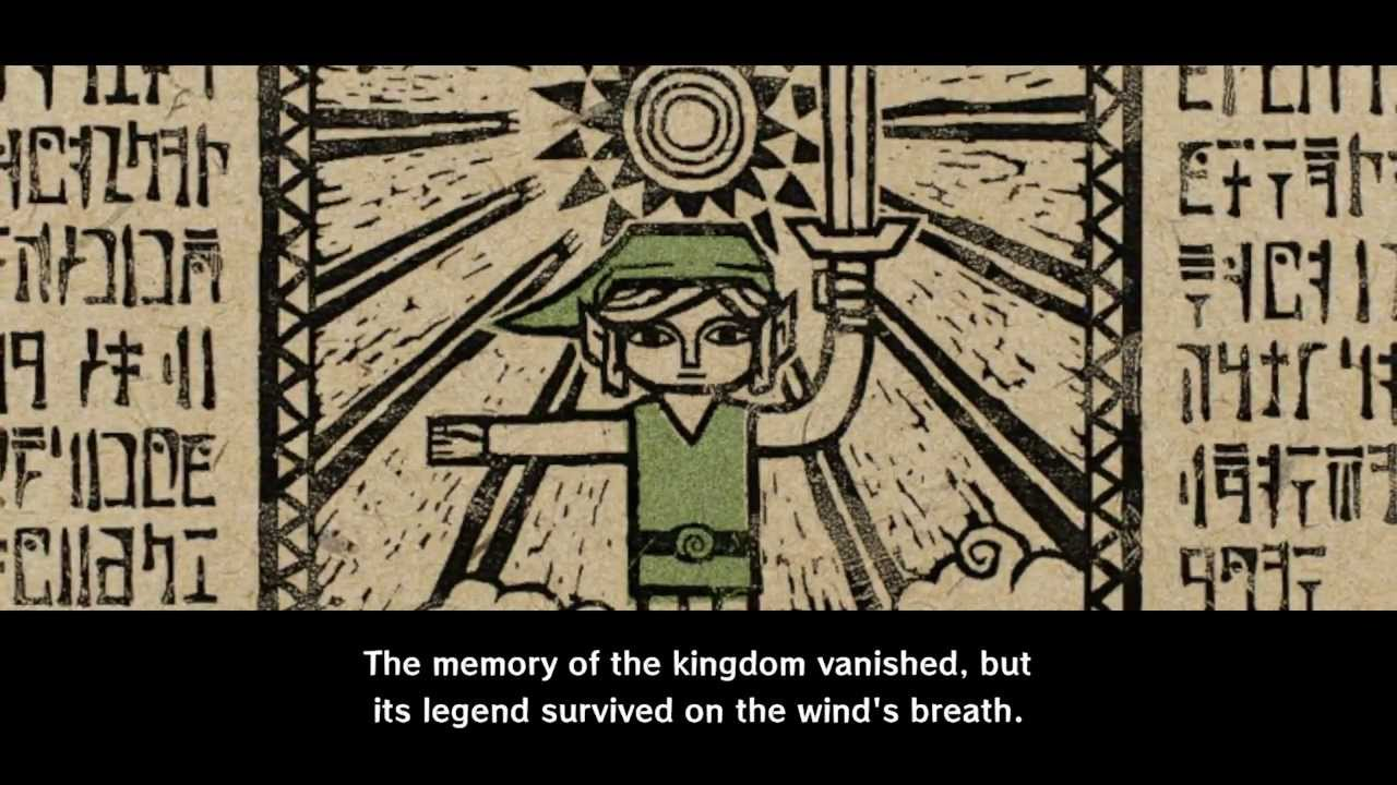 wind waker opening sequence
