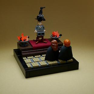 harry potter scene it instructions
