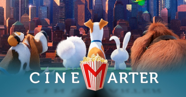 Secret Life of Pets CineMarter Banner