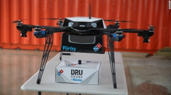 dominos pizza drone