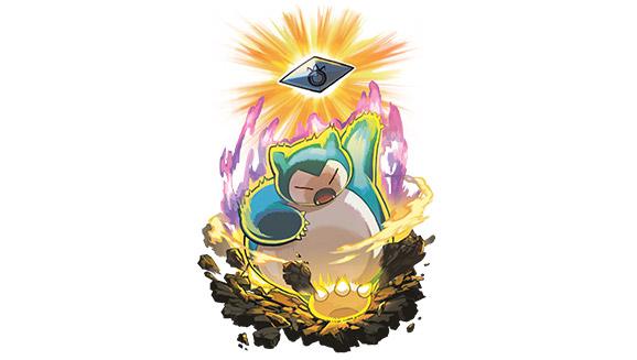 Snorlax Eating Pokemon Sun and ...