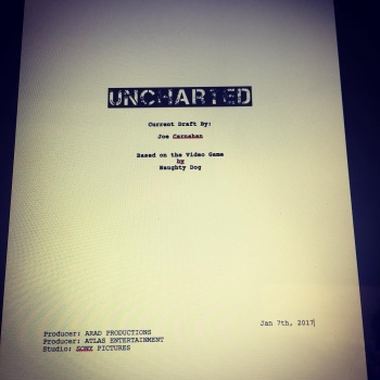 Uncharted Movie Complete Script News