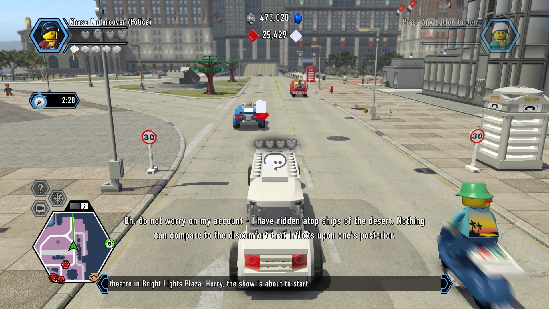 lego city undercover complete walkthrough