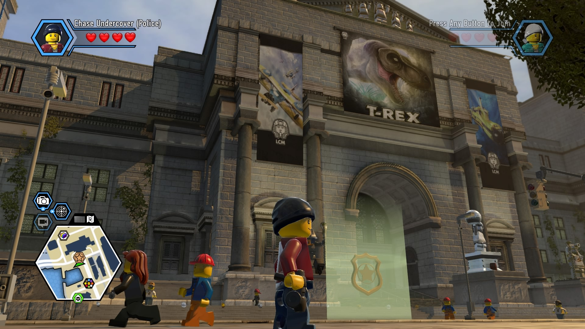 Lego City Undercover Walkthrough Chapter 10 Museum Guide