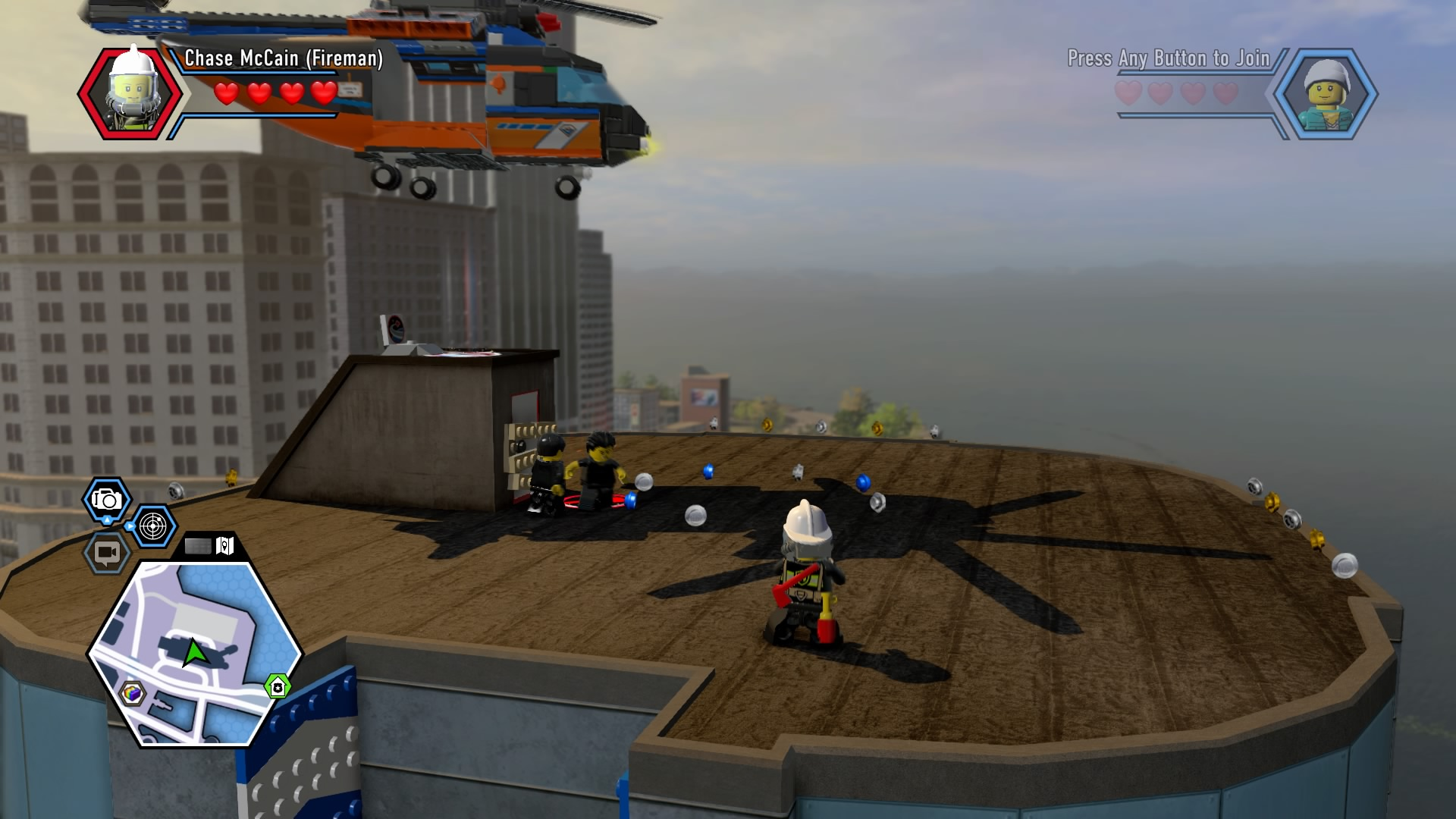 LEGO City Undercover Walkthrough | Chapter 10 Fire Station Guide
