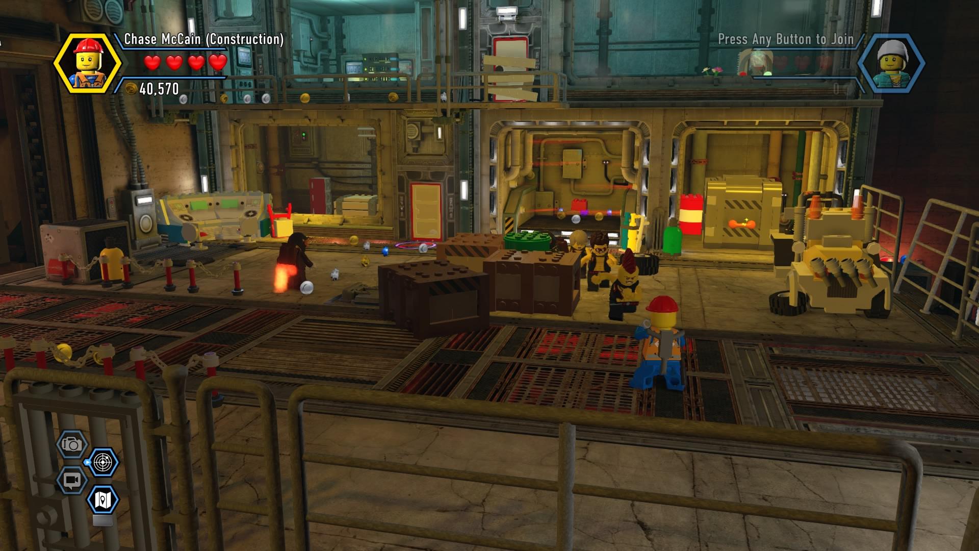 Lego City Undercover Walkthrough Chapter 13 Secret Base