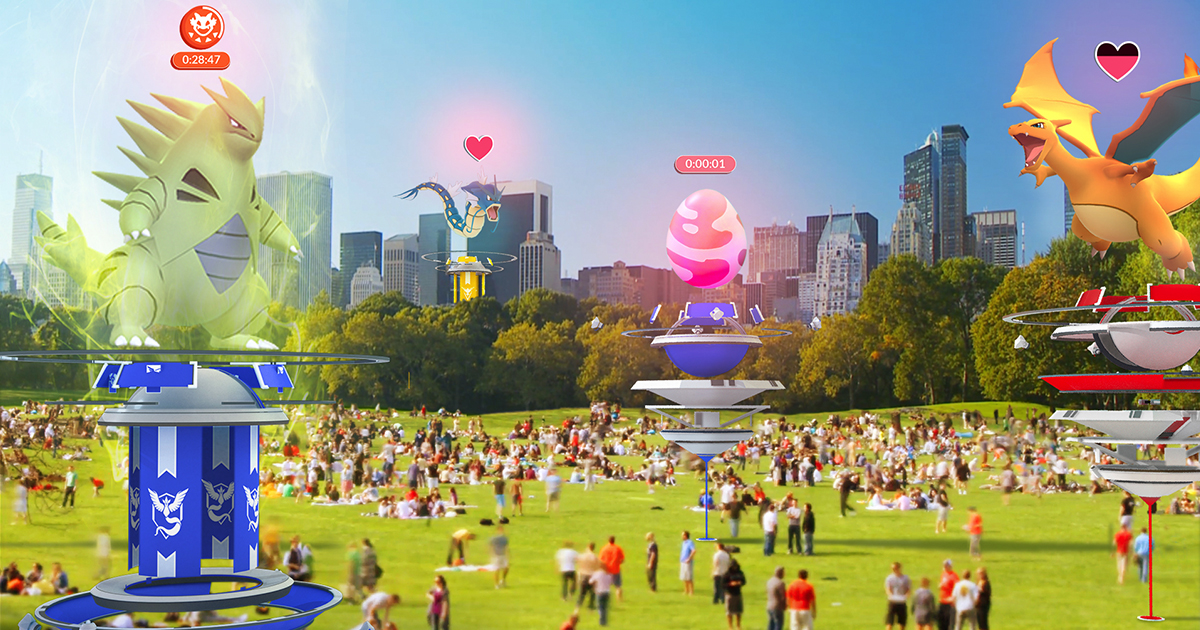 Pokemon Go Raids Coming in Early July