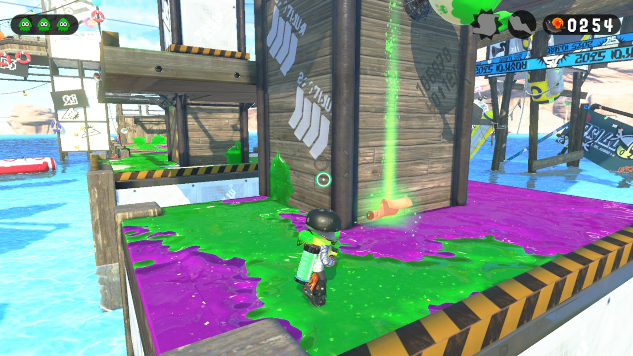 Splatoon 2 Sunken Scroll