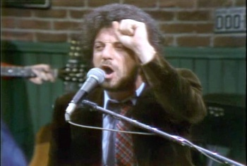 Billy Joel on SNL in 1978.
