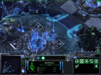 StarCraft II Blizzard DOTA All Stars Screen