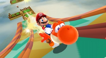Super Mario Galaxy 2 - Yoshi