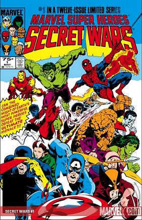 Marvel's Secret Wars #1