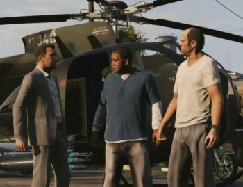 Grand Theft Auto V screen detail