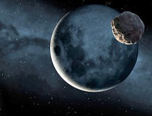 Moon Asteroid