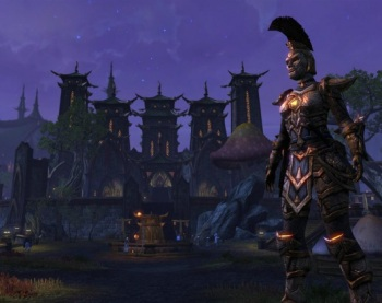 The Elder Scrolls Online screen