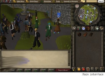 Runescape Games Room
