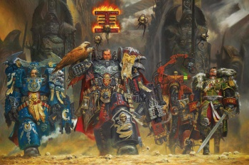 Warhammer 40K promo art