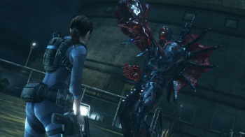 Resident Evil Revelations new enemy