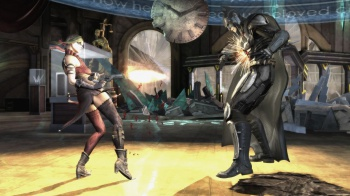 Injustice: Gods Among Us -- Harley Quinn Vs Batman