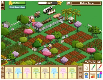 Farmville Screen