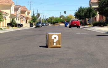 Super Mario Box Found In Arizona