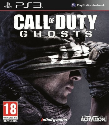 Call of Duty Ghosts Boxart