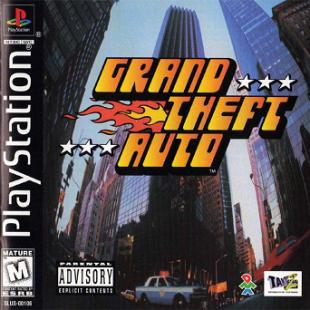 Grand Theft Auto PS1 Box Art