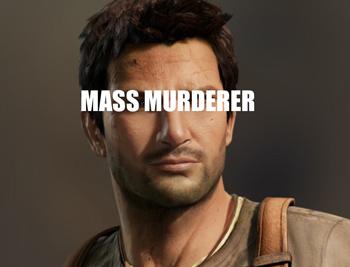 Nathan Drake Uncharted Murderer