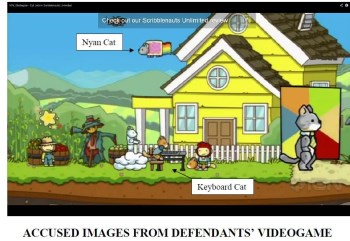 Scribblenauts lawsuit screen