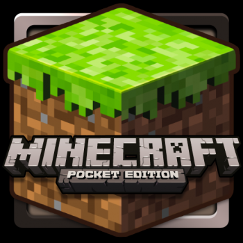 minecraft pocket logo