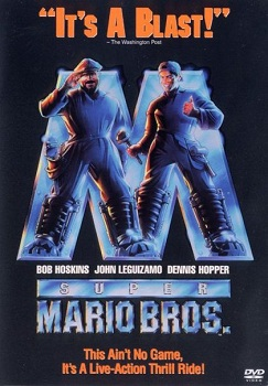 Super Mari Bros. The Movie Box Art