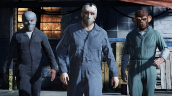 Grand Theft Auto GTA V characters