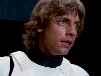 Mark Hamill Stormtrooper Disguise