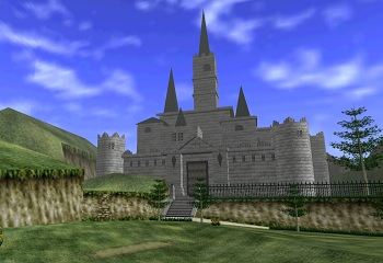 Hyrule Castle Ocarina of Time