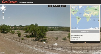 GeoGuessr - Texas